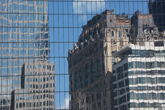 Skyscrapers reflection Royalty Free Stock Image