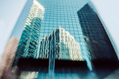 Skyscrapers reflections Royalty Free Stock Image