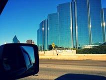 Skyscrapers. Road trip thru Dallas Royalty Free Stock Photography
