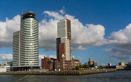 Skyscrapers of Rotterdam Stock Photo