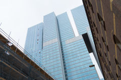 Skyscrapers in rotterdam Stock Photography