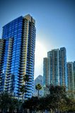 Skyscrapers in San Diego California Royalty Free Stock Image