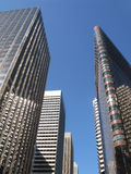 Skyscrapers in San Francisco. Royalty Free Stock Image