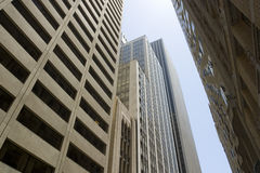 Skyscrapers in San Francisco Stock Photography