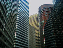 Skyscrapers in San Francisco Stock Image