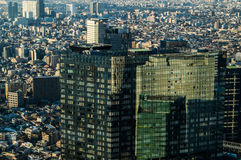 Skyscrapers Seen from TOCHO Tokyo Metropolitan Government Building in Tokyo Stock Photography