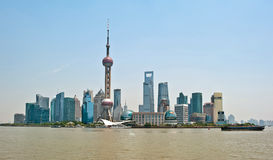 Skyscrapers of Shanghai, China Royalty Free Stock Photos
