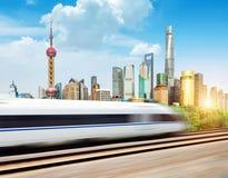 Skyscrapers in Shanghai, China Stock Photo