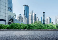 Skyscrapers in Shanghai, China Royalty Free Stock Photos