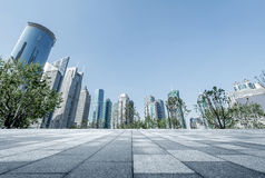 Skyscrapers in Shanghai, China Stock Images