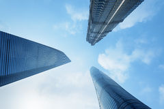 Skyscrapers of Shanghai. Royalty Free Stock Image