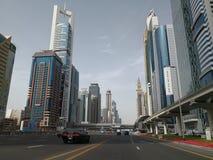 Skyscrapers on Sheikh Zaed road in Dubai