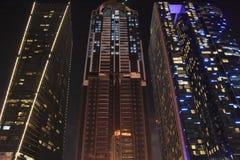 Skyscrapers on Sheikh Zayed Road in Dubai, UAE Stock Photos