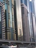 Skyscrapers on Sheikh Zayed Road in Dubai, UAE Stock Photo