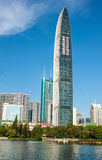 Skyscrapers in Shenzhen, China Royalty Free Stock Image