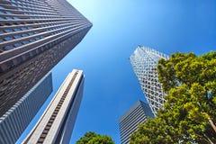 Skyscrapers in Shinjuku district. Tokyo, Japan. Stock Images
