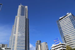 Skyscrapers in Shinjuku Japan Stock Image