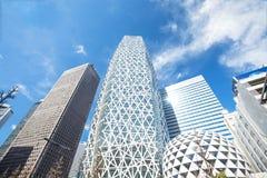 Skyscrapers of Shinjuku, Tokyo, Japan Royalty Free Stock Images