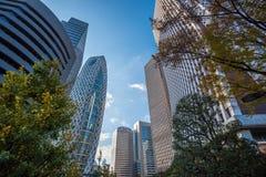 Skyscrapers of Shinjuku, Tokyo, Japan Stock Image
