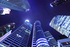 Skyscrapers in Singapore Stock Images