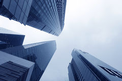 Skyscrapers Of Singapore Stock Images