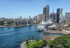 Skyscrapers Of Sydney Harbour Stock Photo