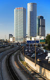 Skyscrapers of Tel Aviv Stock Image