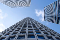 Skyscrapers in the Tel Aviv Stock Photography