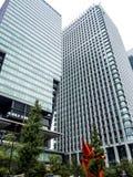 Skyscrapers in Tokyo Royalty Free Stock Photos