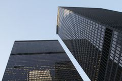 Skyscrapers of Toronto Stock Photography