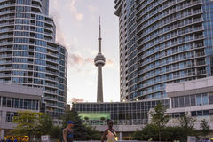 Skyscrapers in Toronto Stock Photos