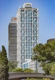 Skyscrapers Torre Mapfre in Barcelona Stock Photo