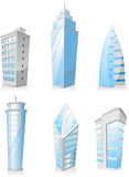 Skyscrapers Tower skyscraper apartment penthouse edifice structu Stock Image