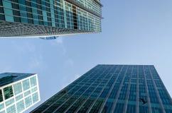 Skyscrapers in Vancouver Stock Photo