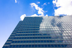 Skyscrapers view with blue sky building business concept Royalty Free Stock Photography