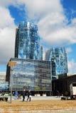 Skyscrapers in Vilnius city on September 24, 2014 Stock Photography