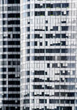 Skyscrapers wall Royalty Free Stock Photo