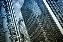 Skyscrapes in City of London. Stock Photography