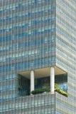 Skyscrapper met tuin royalty-vrije stock foto