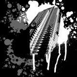 Skyscrapper noir et blanc Images libres de droits