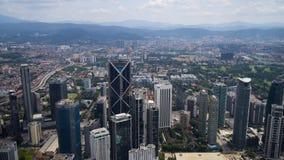 Skyscrappers в Куалае-Лумпур Стоковая Фотография RF