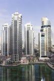 Skyscrappers in Doubai Royalty-vrije Stock Foto