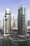 Skyscrappers in Dubai Royalty Free Stock Image