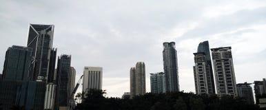 Skyscrappers in Kuala Lumpur Malaysia Stock Photo