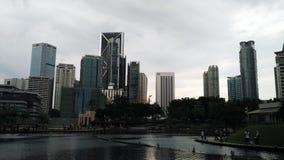 Skyscrappers Kuala Lumpur Malaysia Royalty Free Stock Photos