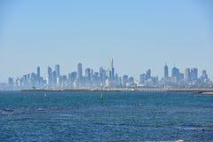 Skyscrappers van Melbourne Royalty-vrije Stock Foto