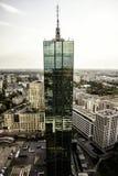 Skyscrapter Intraco и панорама города Стоковое Фото