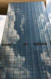 Skyscreaper в Сингапуре Стоковое Изображение