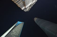 Skyscreaper в Шанхае Стоковая Фотография RF