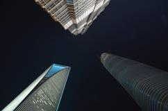 Skyscreaper w Szanghaj Fotografia Royalty Free